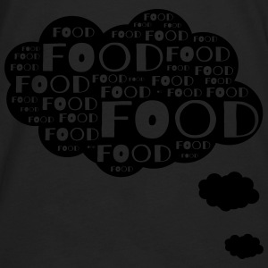 Food thought bubble T-Shirts - Men's Premium Long Sleeve T-Shirt
