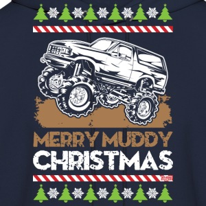 Mud Truck Ugly Christmas T-Shirts - Men's Hoodie