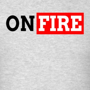 ON FIRE WORKOUT GYM SALES HARDWORK Sportswear - Men's T-Shirt