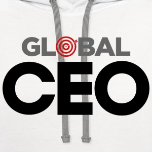 Global CEO T-shirt T-Shirts - Contrast Hoodie