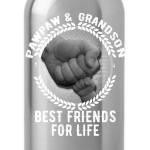 Pawpaw And Grandson Best Friends For Life T-Shirts - Water Bottle