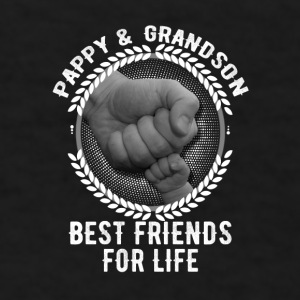 Pappy And Grandson Best Friends For Life Mugs & Drinkware - Men's T-Shirt