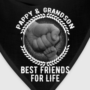 Pappy And Grandson Best Friends For Life Mugs & Drinkware - Bandana