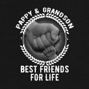 Pappy And Grandson Best Friends For Life Mugs & Drinkware - Men's Premium T-Shirt