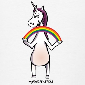 Magic unicorn with a rainbow Tanks - Men's T-Shirt