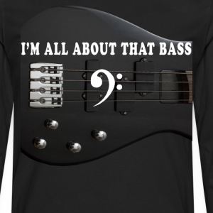 Bass Shirt - Men's Premium Long Sleeve T-Shirt