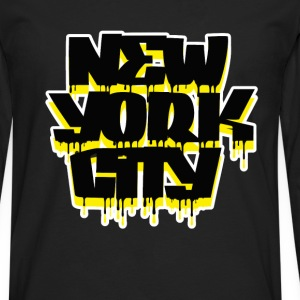 New York City. T-Shirts - Men's Premium Long Sleeve T-Shirt