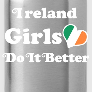 ireland girl 111.png T-Shirts - Water Bottle