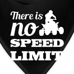 There is No Speed Limit Graphic Quad T-shirt T-Shirts - Bandana