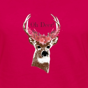 Oh Deer - Women's Premium Long Sleeve T-Shirt