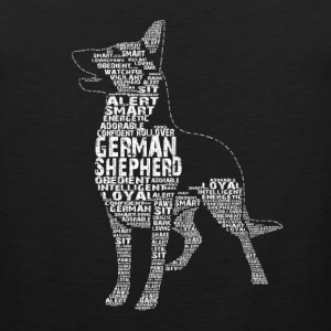 German Shepherd Tee - Men's Premium Tank