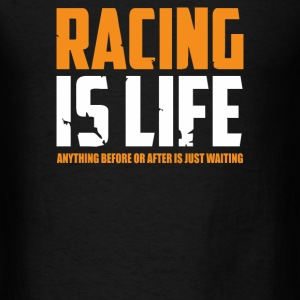 Racing Is Life Steve Mcqueen - Men's T-Shirt