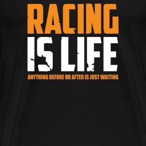 Racing Is Life Steve Mcqueen - Men's Premium T-Shirt