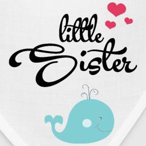Little Sister with Cute Wale Kids' Shirts - Bandana