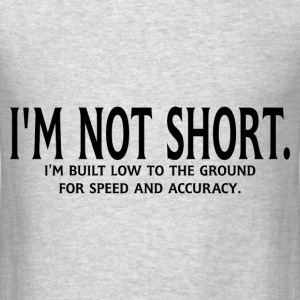 FOR SPEED AND ACCURACY Hoodies - Men's T-Shirt