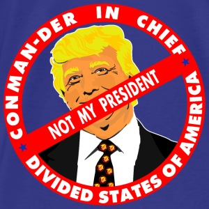 Trump CONmander in Chief Bags & backpacks - Men's Premium T-Shirt