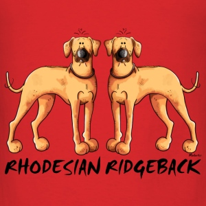 Two Rhodesian Ridgebacks Bags & backpacks - Men's T-Shirt