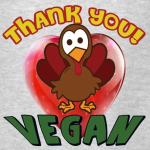 THANKSGIVING- THANK YOU VEGAN - Men's T-Shirt