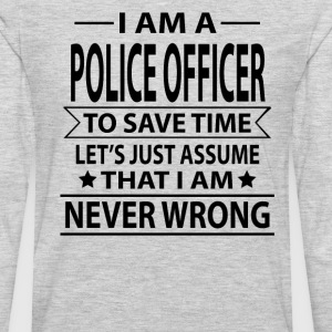 Police Officer - Men's Premium Long Sleeve T-Shirt