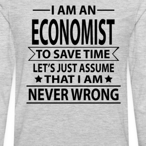 Economist - Men's Premium Long Sleeve T-Shirt