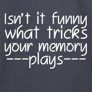 FUNNY MEMORY TRICKS Hoodies - Kids' Long Sleeve T-Shirt