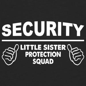 Brother - Little Sister Protection Squad Baby Bodysuits - Men's Premium Long Sleeve T-Shirt