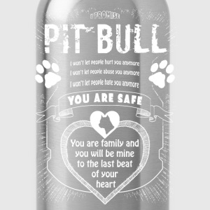 Pit Bull - Pitbull Promise T-Shirts - Water Bottle