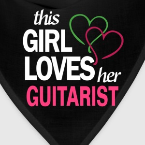 This girl love her GUITARIST T-Shirts - Bandana