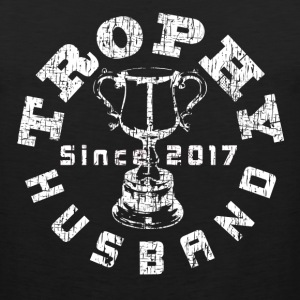 Trophy Husband Since 2017 White - Men's Premium Tank