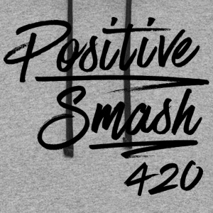 Positivesmash.png T-Shirts - Colorblock Hoodie