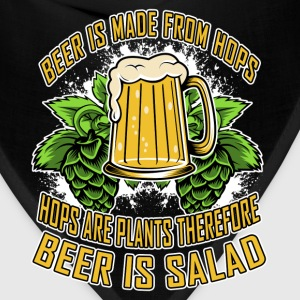 Beer Is Made From Hops, Hops Are Plants Hoodies - Bandana