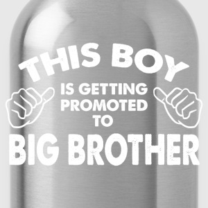Family-This Boy Is Getting Promoted To Big Brother Kids' Shirts - Water Bottle