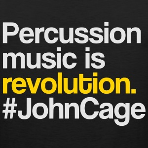 #JohnCage T-Shirt (Men) - Men's Premium Tank