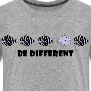 be different  zebra fish Kids' Shirts - Toddler Premium T-Shirt