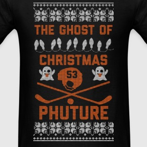 Ghost of Christmas Phuture Long Sleeve Shirts - Men's T-Shirt