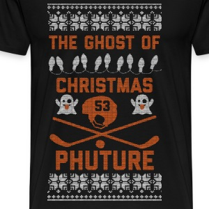Ghost of Christmas Phuture Long Sleeve Shirts - Men's Premium T-Shirt