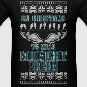 Midnight Green Long Sleeve Shirts - Men's T-Shirt