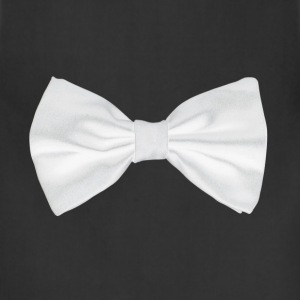 White bow-tie - Adjustable Apron