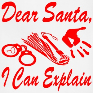 Dear Santa I Can Explain    - Adjustable Apron