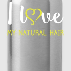 I love my natural hair - Water Bottle