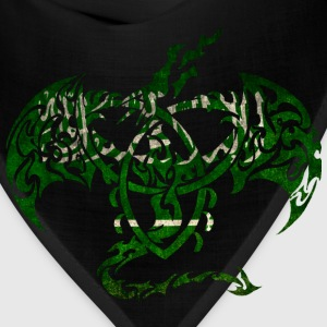 SAUDI ARABIA FLAG DRAGON Baby & Toddler Shirts - Bandana