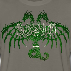SAUDI ARABIA FLAG DRAGON T-Shirts - Men's Premium Long Sleeve T-Shirt