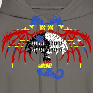 SWAZILAND FLAG DRAGON 2 T-Shirts - Men's Hoodie