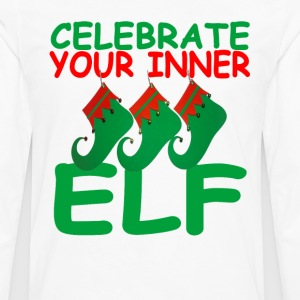 celebrate_your_inner_elf_ - Men's Premium Long Sleeve T-Shirt