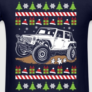 jeep wrangler ugly Long Sleeve Shirts - Men's T-Shirt