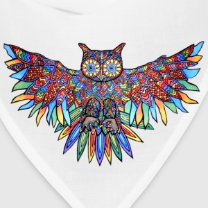 Owl colored - Bandana