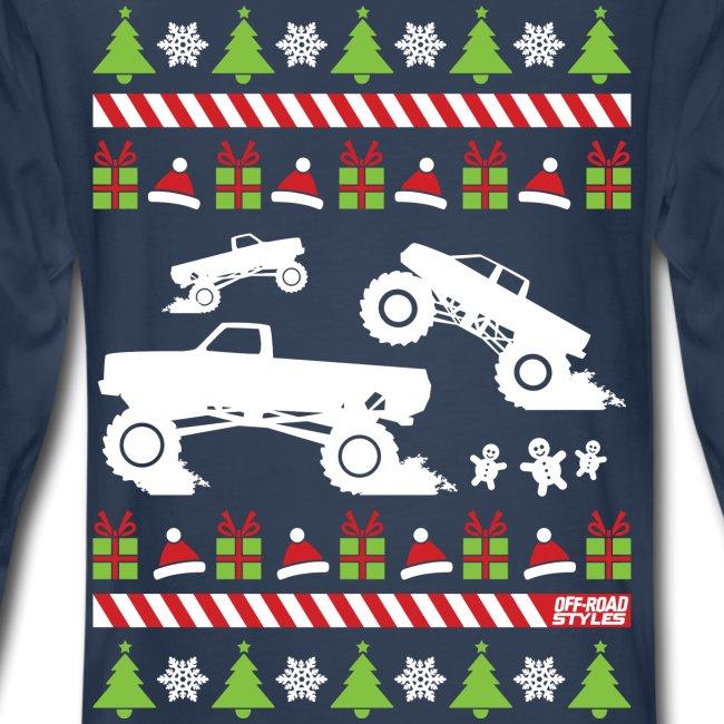 Mud Truck Ugly Christmas