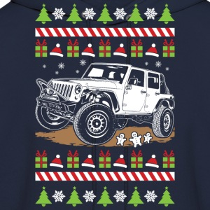 jeep wrangler ugly T-Shirts - Men's Hoodie