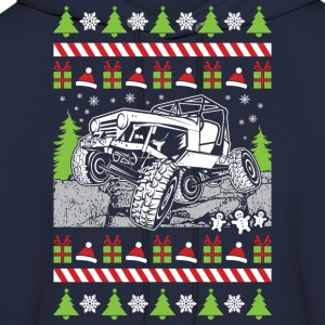 Jeep Rock Ugly Christmas Long Sleeve Shirts - Men's Hoodie