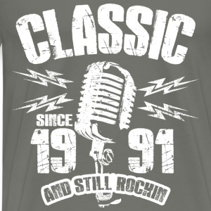Classic Since 1991 Long Sleeve Shirts - Men's Premium T-Shirt